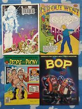 LOT x4 Underground Comix People Are Phony Far Out West Bop Imagine Star Reach 🪐
