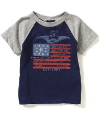 Ralph Lauren Childrenswear Baby Boys American Flag Color Block Americana Tee 12M