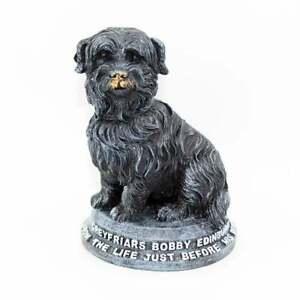 Greyfriars Bobby Model 11cm Scottish Edinburgh Skye Terrier Dog Figurine WZ0595