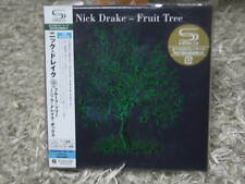 NICK DRAKE FRUIT TREE RARE OOP JAPAN MINI-LP 3 SHM-CD+DVD BOX