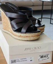 Jimmy Choo. Size 39 1/2 Patent Leather Nude