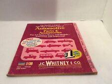 vintage 1975 jc whitney catalog cat no 339  car parts & accessorier J
