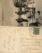 POSTA MILITARE IV DIVISIONE TRIPOLITANIA-5 c Leoni-Cartolina Chiavari 28.4.1912