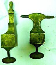 Lot bronze de tour ancien burin poupée watchmakers lathe horloger