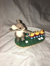 Charming Tails Fitz & Floyd figurine 'Keep All Your Ducks in a Row 88/108