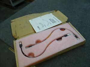 NEW Pair Agilent 85132A 85132B 85132-60001 Test Port Return Precision 7mm Cables