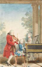 Portrait de Wolfgang Amadeus Mozart Louis carmontelle compositores B a3 02799
