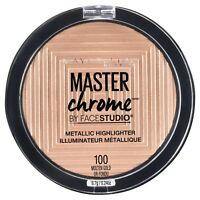 MAYBELLINE Master Chrome Metallic Highlighter MOLTEN GOLD 100 new