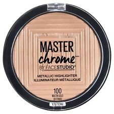 MAYBELLINE Master Chrome Metallic Highlighter MOLTEN GOLD 100 new