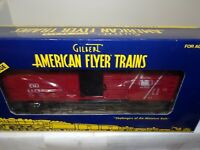 AMERICAN FLYER S GAUGE MINT  6-48366 JERSEY CENTRAL BOXCAR