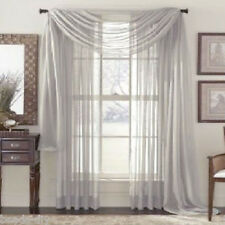 1PC Window Curtains Solid Color Living Room Bedroom Curtains Window Home Decor
