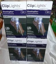 4 Boxes 8-Light Shooting Star ClipLights Outdoor Icicle Light String