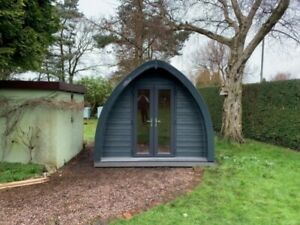 Composite Camping Pod,  Glamping Pod,  Home Office with Ensuite & Kitchenette