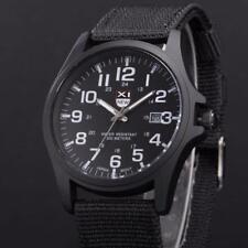 Military Men's Date Sport Stainless Steel Army Watch Analog Quartz Wrist Watches
