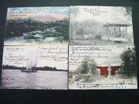 Japan 100 Year Old Picture Post Cards