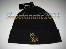 Nike Jordan Brand Ovo beanie knit hat embroidered gold owl Jumpman Drake