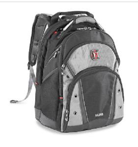 Swiss Gear Wenger Synergy Pro Uline Computer Backpack w/Uline Logo