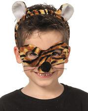 tiger-maske con orecchie NUOVO - CARNEVALE MASCHERA VOLTI