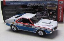 AMC AMX Hurst S/S ( 1969 ) K.Nagel / Auto World 1:18