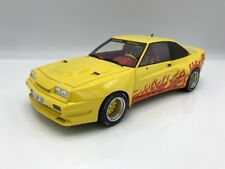 Opel Manta B Mattig 1991 -gelb / Flammen - 1:18 BOS >>NEW <<