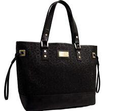 New Calvin Klein Large Tote Bag Handbag - Black