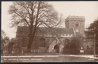 Bedfordshire Postcard - St Peter's Church, Bedford     1148
