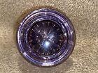 "Nice Purple Lavender Antique Round Glass Doorknob Door Knob 2"""