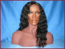 """Hair Isle 14"""" Virgin Indian Remy Wavy/Curly U-Part Wig (Left Part)"""