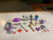 Vintage 1989 Tyco DINO RIDERS Action Figures Vehicle Parts & Accessories LOT #2