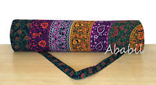 Yoga Mat Carrier Bag Handmade Multi Exercise Bags With Shoulder Strap Throw
