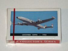 Vintage TWA Collector's Series LOCKHEED 1049G 1955 Sealed Deck of Playing Cards!