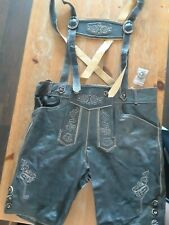 Men's Lederhosen Size 36 - Oktoberfest / Octoberfest German Leather Trousers