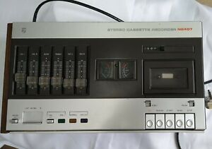 Rare Philips N2407, Cassette Stereo Recorder - Spares & Repairs or Restoration