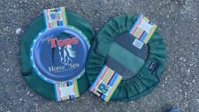 Bucket Top Cover Horse Spa Products *New *Green Nylon Fits 5 Gallon Bucket