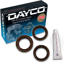 Dayco Engine Timing Seal Kit for 1990-2012 Subaru Legacy 2.2L 2.5L H4 - wr