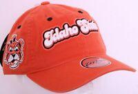 NEW Idaho State Bengals Orange Embroidered Zephyr Adjustable Cap Hat OSFA
