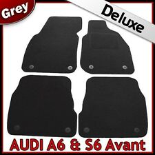 Audi A6 Avant Estate C5 1997-2005 Tailored LUXURY 1300g Carpet Car Mats GREY
