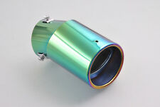 GE Universal Adjustable Colorful Exhaust Muffler Tail Tip Pipe 58-70mm Inner Dia