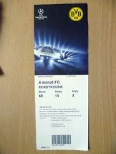 Tickets: 2014 UEFA Champions League ARSENAL v BORUSSIA DORTMUND, 16 Sept 2014