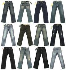 Coloured Herren-Jeans lange Röhrenjeans (en)