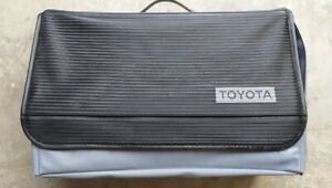 JDM TOYOTA OEM TRUNK TOOL BAG VERY RARE!!!