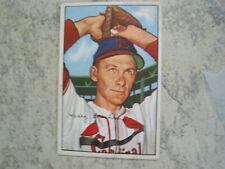 Harry Brecheen 1952 Bowman St. Louis Cardinals Card #176