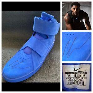 Andre Drummond Signed 2015 Blue Nike Shoe Sz 15 Auto Philadelphia 76ers UConn