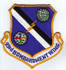 USAF WING PATCH, 93RD BOMBARDMENT WING, CASTLE AFB, GONE BUT NOT FORGOTTEN