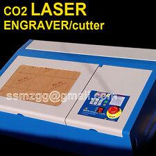 40w co2 laser engraving cutting machine engraver cutter usb cnc router dropship