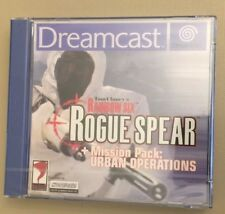 New Dreamcast Game Tom Clancy's Rogue Spear in Plastic Case  MAKE AN OFFER