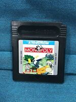 Monopoly Nintendo Gameboy Color Video Game Tested-Free Shipping