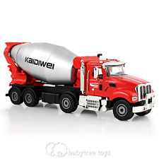KDW 1/50 Scale Diecast Cement Mixer Truck Construction Equipment Vehicle Model