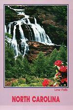 Low Falls Cullasaja Gorge Highlands Franklin North Carolina - Waterfall Postcard