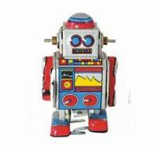 Kleiner Roboter zum Aufziehen - Blechspielzeug